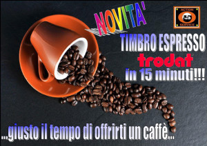 Timbro Espresso in 15 minuti